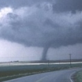 A tornado approaching Barrie ON